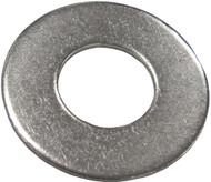 Flat Washer, SS,  #10, (15)