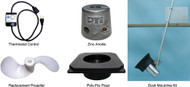 2 HP Black Poly-Pro Float - Converts to Aerator