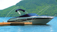 12' Mooring Whip for Boats up to 5000 lbs., pair
