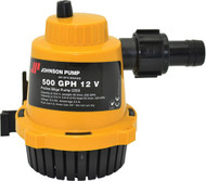 Bilge Pump, 1000 GPH, Straight