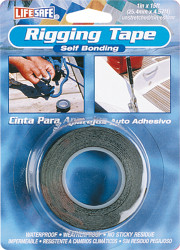 "Rigging Tape, White, 1"" x 15'"