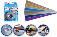 "Metallic Bright Blue Boat Striping Tape, 3"" x 50'"