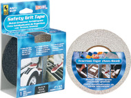"Safety Grit Tape, 2"" x 15', Black, Packaged"