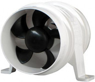 "Water-Resistant Blower, In-Line,  4"",  230/CFM"