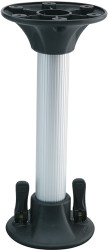 "9.25"" Stanchion Post, 2.25"" Diameter"