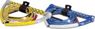 Bling Wakeboard Rope, 75', 4-Section, Blue