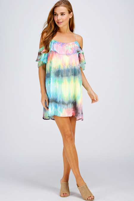 Get summer ready with fancy tie-dye inspired  Styles WD1815-D & 1195-AH