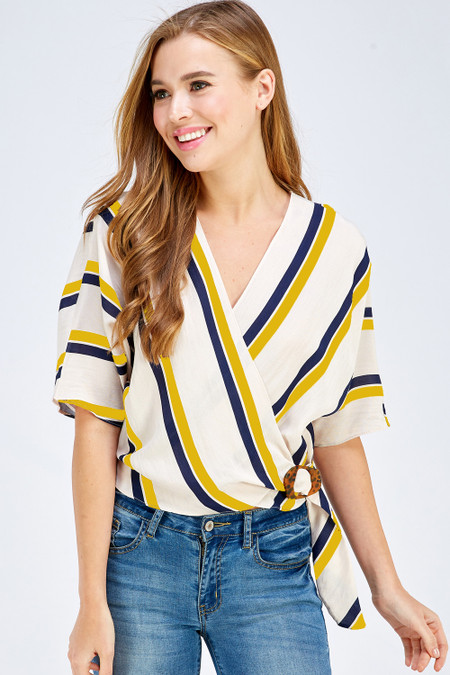 Your favorite summer stripes are here!  Shop Style WT5234-B