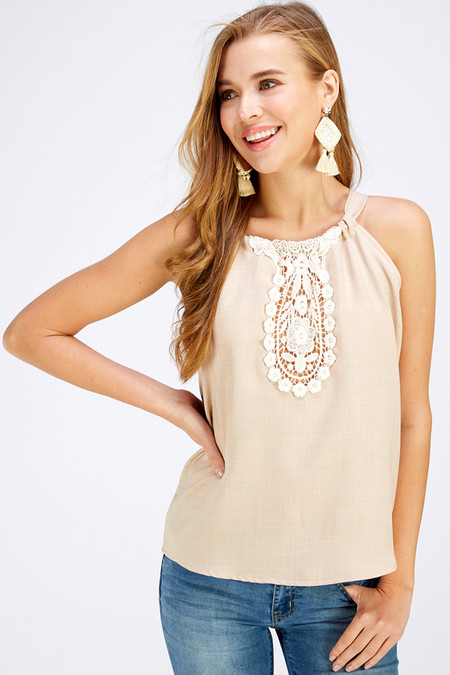 Current obsession: crochet applique! Shop Style WT5210, WT5187