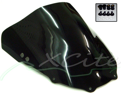 CBR250RR double bubble windscreen - Black WS1007