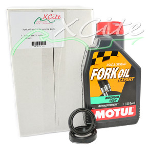 Fork oil & seals service pack - 10w PK00110
