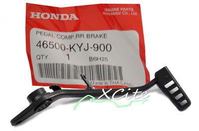 Genuine Honda CBR250R 11-13 rear brake pedal 46500-KYJ-900