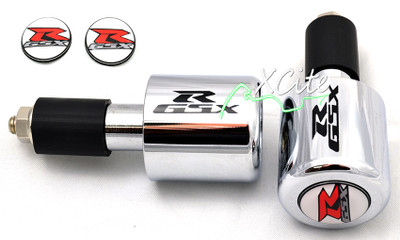 Chrome GSXR 600 750 1000 bar ends BE109CR