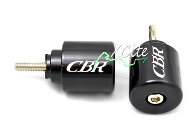 Black looks bar ends Honda CBR VFR VTR RC51 BE110BK