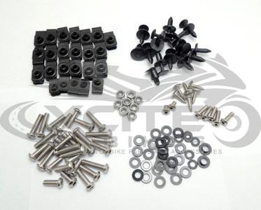 Fairing bolts kit, stainless steel, Yamaha R1 2007-2008 BT181