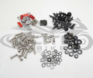 Fairing bolts kit stainless steel, Yamaha R1 2009-2014  BT182