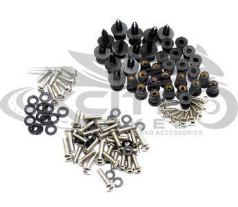 Fairing bolts kit, stainless steel, Kawasaki ZX-10R 2008-2010 BT143