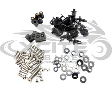 Fairing bolts kit stainless steel, Suzuki GSXR600 GSXR750 2008 to 2010 BT161