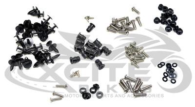 Fairing bolts kit, stainless steel, Honda CBR1000RR 2006 - 2007 BT115