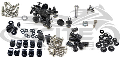 Fairing bolts kit stainless steel, Suzuki GSXR 600 750, years 2006 and 2007 BT164