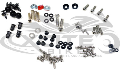 Fairing bolts kit Suzuki SV650 /SV1000 2003-2009 BT169