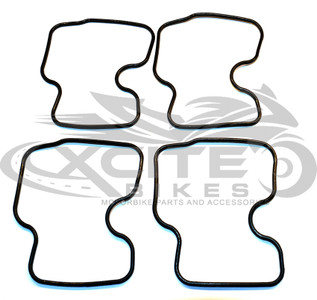CBR250RR MC22 carburettor float bowl gasket set (4x) CRG001