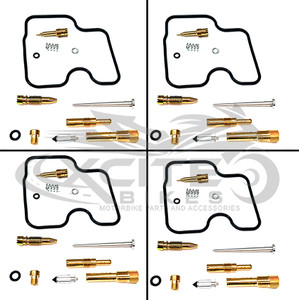 CBR250RR MC22 Keihin carburettor repair kit set (4x) CRK001100