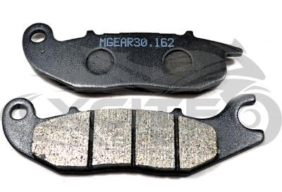 Front brake pads organic MetalGear MSX 125 Grom CBR125 CB125 CBR150 (30-162)