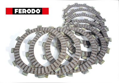 Ferodo clutch friction plates RVF400 NC35 FCD0186