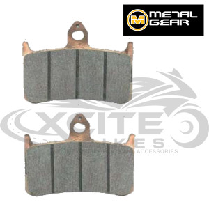 2 x RVF400 front brake pads - sintered Metalgear 30-004-S
