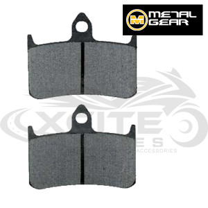 2 x RVF400 front brake pads - organic Metalgear 30-004