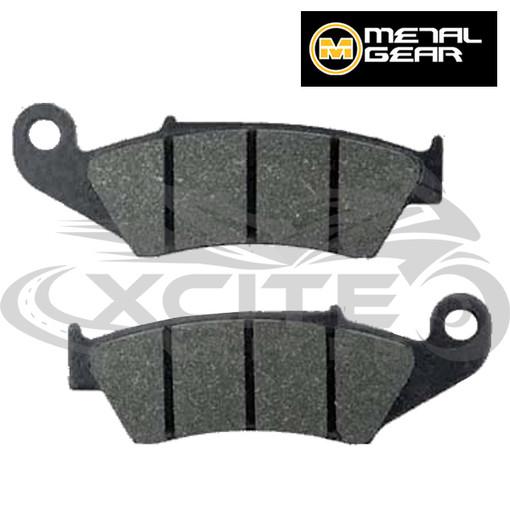 RVF400 rear brake pads - organic Metalgear 30-091