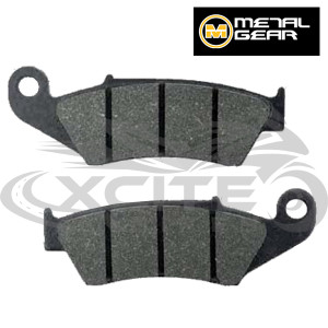 RVF400 rear brake pads - organic Metalgear 30-091