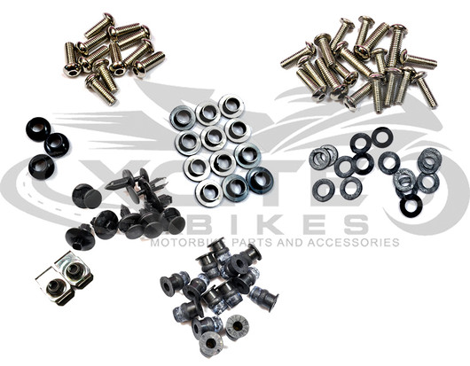 Fairing bolts kit Honda RVT1000 RC51 2000 - 2007 BT121