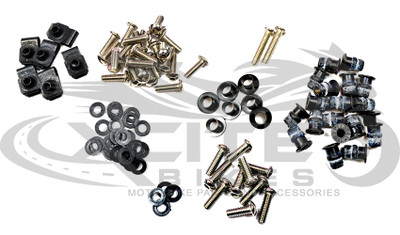 Fairing bolts kit ZX-6R 1998-2002 BT145