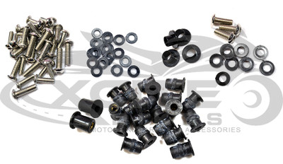 Fairing bolts kit ZX-9R 02-03 BT148