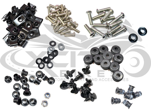 Fairing bolts kit R6 1999 - 2002 BT184
