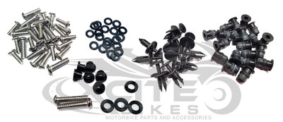 Fairing bolts kit ZX-6R 03-04 BT150