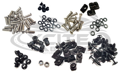 Yamaha R1 2002 - 2003 Fairing bolts, BT188