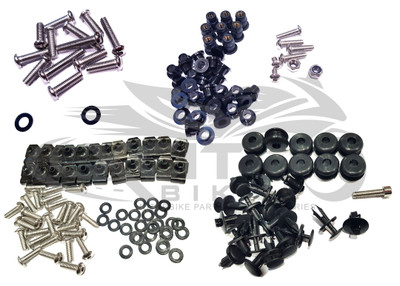 Yamaha R6 2006 - 2007 Fairing bolts, BT189