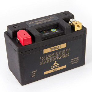 Motocell Lithium Gold LiFePO4 Battery 12.8 Volt Series - MLG9 36WH 58-009-30