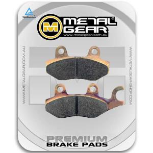 MetalGear front brake pads - sintered 30-075-S2