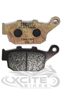 Ferodo Rear Brake Pads - FDB531P 01-0531-P0 (organic)