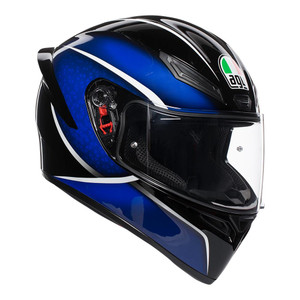 AGV K1 - QUALIFY BLACK/BLUE ML 77-914-08