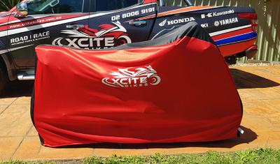 Motorbike cover red/black XCite Bikes