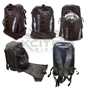 Genuine Honda Backpack Black with helmet compartment APSTDBA104FSZB