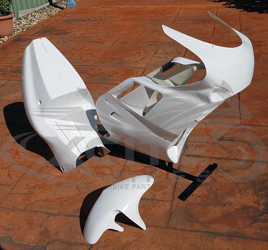 B-Spoke track fairings GSX-R 750 1989-1990, (Period 6 compliant), unpainted BS100301