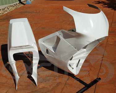 B-Spoke track fairing kit, RGV250 VJ21, years 88 to 91  (Period 6 compliant), unpainted BS301301