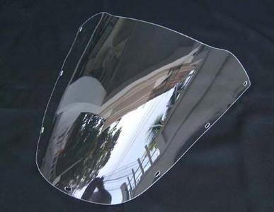 (Generic Photo) OEM shape clear windscreen, RVF400 NC35, SCRE-0041