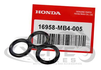 Genuine Honda CBR250R MC19 fuel tap petcock gasket 16958-MB4-005